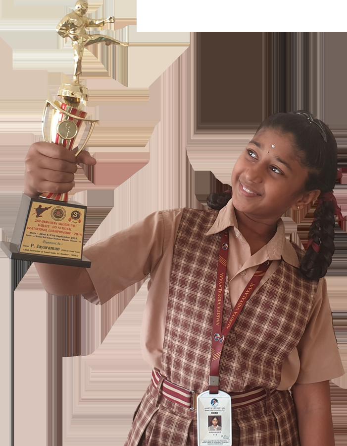 Amrita vidyalayam Student